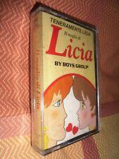 Cassetta MC il Meglio di Teneramente Kiss Me Licia BOYS GROUP Cartoni Anni 80
