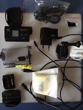 Sony hdr-as20 Exmor R 11.9 Mega pixel Videocamera Action Cam SET GO PRO
