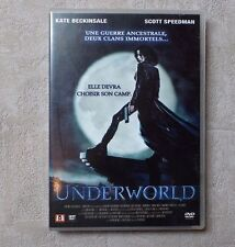 "DVD CINÉMA FILM SERIE / UNDERWORLD ""KATE BECKINSALE / SCOTT SPEEDMAN""  2003"