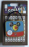 I Collect Pixar Pin Suitcase LE 2000 Disney Luxo Alien Coco Grape Soda Wall-E