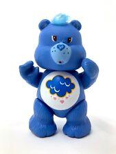 Vintage Care Bears 1983 blue rain sad figure pretend play plastic