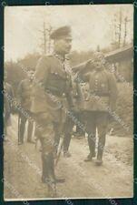 Militari German Soldier Germania Soldati 1916 Foto cartolina XF7086