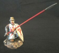 St Petersburg Amber (VM) Livonian Brothers of The Sword Knight with Spear 54 mm