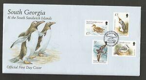 SOUTH GEORGIA & S,S/ISLES 1999 BIRDS X3 FDC's SG,294-305 LOT 2813B
