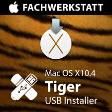 Mac OS X 10.4 Tiger USB-Installer Neuinstallation Reperatur Update Recovery