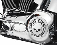 Harley Davidson Willie G. Skull Derby Cover Twin Cam 25441-04a