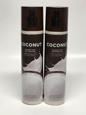 x2 Bath & Body Works Coconut Milk Moisture Mist