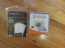Zeikos Digital Camera Cleaning Kit 5-Piece Set & screen guard