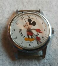 Vintage 1950s Mickey Mouse 17j German mvmt Disneyland Walt Disney Productions...