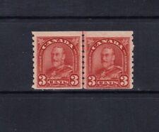 CANADA  1930 KING GEORGE V ARCH/LEAF COIL LINE PAIR - SCOTT 183i - MNH