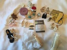 Doll/Bear Accessories Pot, Shoes, Hats, Suitable For Small 8� To 11� Dolls,