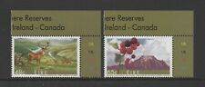 IRELAND 2005 JOINT ISSUE WITH CANADA - BIOSPHERE RESERVES *VF MNH*