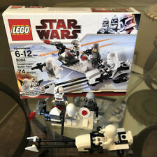 LEGO Snow Trooper Battle Pack #8084 W/Box. No Instructions. 100% Complete Pieces