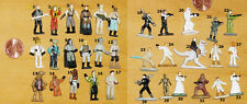 STAR WARS MICRO MACHINES FIGURES CHOOSE FROM LUKE LEIA REBELS IMPERIALS CANTINA