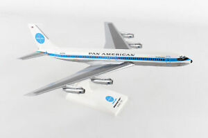 SkyMarks 877 Pan Am Boeing 707 Jet Clipper Monsoon 'N415PA' 1/150 Scale Model