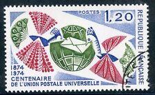 STAMP / TIMBRE FRANCE OBLITERE N° 1817 CENTENAIRE DE L'U.P.U.