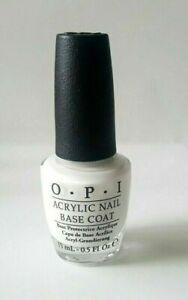 OPI Nail Polish Lacquer Acrylic Nail Base Coat .05 oz Preparation Salon Nails