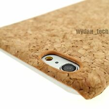 Natural Cork Thin Hard Case Slim Cover for Apple iPhone 6 Plus 5.5 Inch