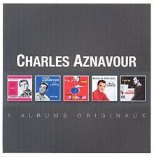 Charles Aznavour - 5 Albums Originaux [CD]