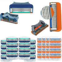 16Pcs 4Pack 3/5-layer Shaver Razor Blades Cartridges for Gillette Fusion Men New