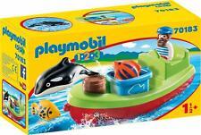 Playmobil 1.2.3 - 70183 Pescador con Bote - Nuevo