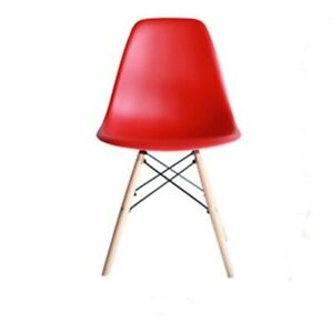 NEW Factory Sale PP Dining Chair Room Furniture Beech Wood Dowel Legs Side Chair