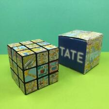 Rare Puzzle Cube TATE Gallery River Thames London Boxed Puzzle Brain Teaser Toy