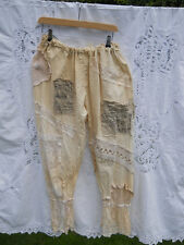 RITANOTIARA OSFA VINTAGE LACE PANTALOONS BLOOMERS PANTS TROUSERS CREAM GOTHIC