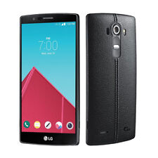 LG G4 Sprint Leather Black 32GB 4G LTE LS991 Dual Camera Smartphone