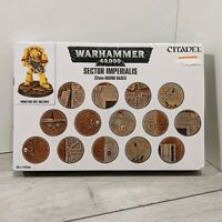 Sector Imperialis 60 X 32mm Round Bases Warhammer 40,000 citadel games workshop
