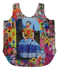 Womens Mexican Frida Tank Top Shirt Loteria Mexicana Graphic Tee Size Medium