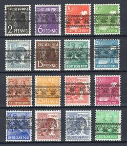 1948 Bizone aus 36I-51I ** postfrisch Sätze oder Einzelmarken zur Auswahl
