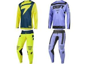 Shift MX Racing 3lack Label Mainline Strike Jersey & Pant Combo Set Motocross