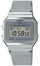 Casio   Vintage   Stalen Mesh Armband   A700WEM-7AEF Horloge