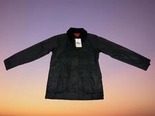 GENUINE BARBOUR WOMEN'S BEDALE WAX JACKET BLACK UK 8 NEW BNWT