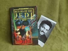 VINTAGE RARE LANDO CALRISSIAN PHOTO INVITE Star Wars & Return Of The Jedi annual