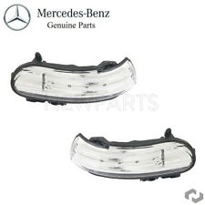 For Mercedes-Benz R171 R230 Set of 2 Door Mirror Turn Signal Lights Genuine