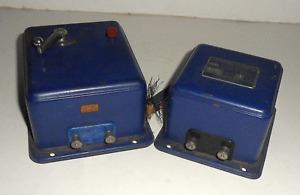 HORNBY DUBLO BLUE PREWAR CONTROL UNIT & TRANSFORMER