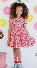 MATILDA JANE Happy and Free Cherry Pie Dress Size 10 pink red