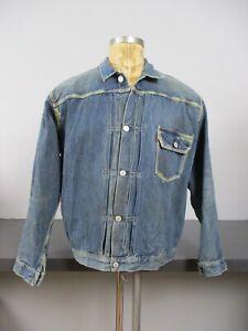 Levis LVC 506xx Big E Type 1 Denim Jacket Buckleback
