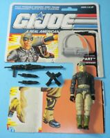 1990 GI Joe Shoreline Defender Rampart Figure w/ File Card Back *Complete
