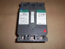 GE THED 3 pole 125 amp 480v THED134125 Circuit Breaker Green