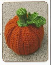 Crochet Pattern ~ Little Pumpkin Halloween Hat Baby & Kids ~ Instructions