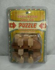 NEW BRAIN TEASER PUZZLE CASSE - TETE CHALLENGE YOUR MIND NIP
