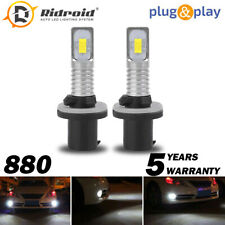 80W 8000LM LED Headlight Kit 880 881 893 894 899 Fog Light bulb 6000K White