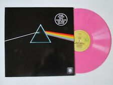 PINK FLOYD Dark Side Of The Moon LP AUSTRALIA PINK MARBLED QUADRAPHONIC RARE
