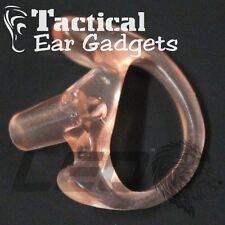 GHOST LEFT LARGE Earmold Open Ear Insert for POLICE by Tactical Ear Gadgets