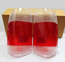 CLEAR RED TAIL LIGHT LENS FORD COURIER MAZDA BRAVO B-SERIES UTE 85-98 86 87 NEW