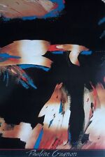Pauline Gagnon - 1987 poster print, 61x91cm, abstract poster