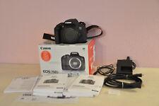 Canon EOS 750d/REBEL t6i 24.2 MP SLR-body fotocamera digitale come nuovo-usate raramente